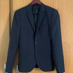 H&M black sports coat, 34R, slim fit